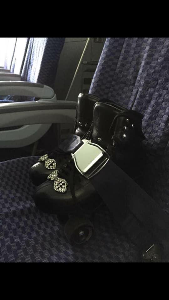 Skates on a Plane