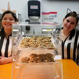 Smiling Snack Bar employees