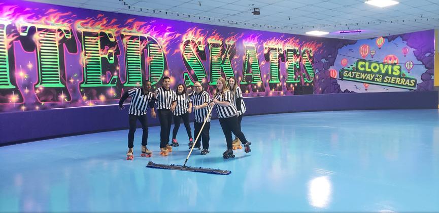 United Skates Clovis
